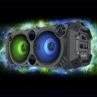 Колонка портативная Bluetooth Sven PS-550, Black