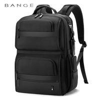 """Рюкзак Bange BG-G62  для ноутбука 15.6 """", с USB портом, водонепроницаемый, чёрный"""