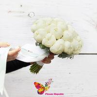 cumpără Bechetul meresei din bujori albe ( Holland) în Chișinău