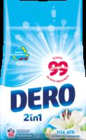 Стиральный порошок Dero Белый Ирис и Ромашка, 6 кг.