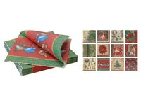 купить Салфетки рождественские бумажные 20шт, 33X33сm в Кишинёве
