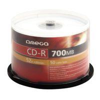 Диски OMEGA CD-R 100 Printable Spindl