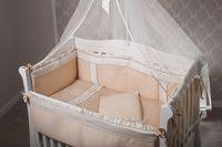 """Dormi Baby Постельное бельё """"Корона"""" сатин крем  (6 единиц)"""