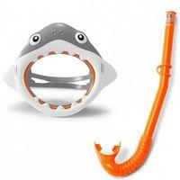 Intex Набор маска + трубка для плавания Shark Fun