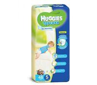 Huggies трусики 5, для мальчиков, 13-17кг. 48шт