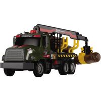 Грузовик Dickie Toys Лесовоз с манипулятором  3806001