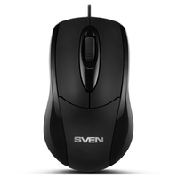 SVEN RX-110, Optical Mouse, 1000 dpi, USB, Black