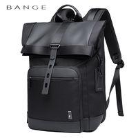 """Рюкзак BANGE G66 для ноутбука дo 15.6"""", водонепроницаемый, черный"""