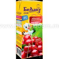 Беллакт Сок яблочно-вишневый 200 мл. (5 м. +)