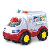 Huile Toys Машина  музыкальная Скорая помощь