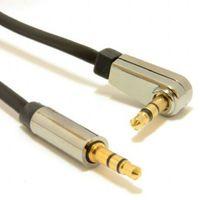 Cable Cablexpert CCAP-444L-0.75M, 3.5mm jack - 3.5mm jack 90°