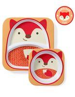 Набор Skip Hop Zoo Тарелка и миска Лиса