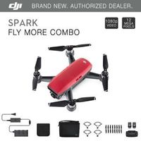 DJI Spark Fly More Combo (EU) / Lava Red - Portable Drone