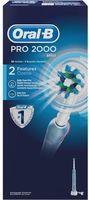 Электрическая зубная щетка Oral-B Pro 2000 Cross Action (D20.523)