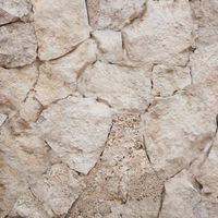 Calcar poligonal Rustic Stone White