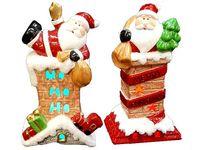 """купить Сувенир с подсветкой """"Дед Мороз в трубе"""" в Кишинёве"""