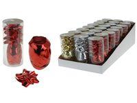 Набор для украшения подарков лента 10mX5mm+4банта