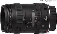 Prime Lens Canon EF 135mm, f/2.8 Soft Lens