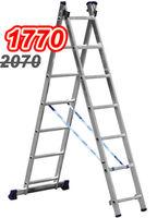 Ascara Лестница алюминиевая двухсекционная Elkop VHR TK 2x7