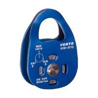 Блок-ролик одинарный Vento Single дюр. с подшип., blue, vpro 0191