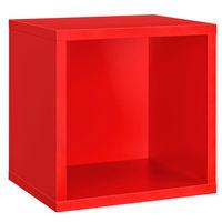 купить Навесной шкафчик Clic 375x375x326 мм, красный в Кишинёве