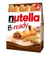 Батончики Nutella B-ready, 6 шт.