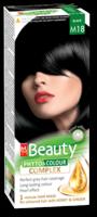 Vopsea p/u păr, SOLVEX MM Beauty, 125 ml., M18 - Negru