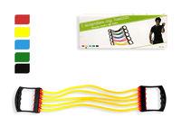 Эспандер регулируемый 5 струн, 64cm, 5цветов, TPE