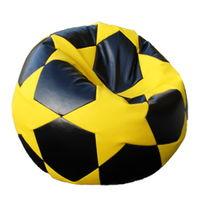 купить Кресло мешок Футбольный Мяч Big Star, белый/черный в Кишинёве