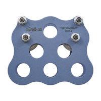 Блок-ролик парный BS-Krok «Тандем ПРОМАЛЬП» (Ролики стальные), krk 3203_41.35