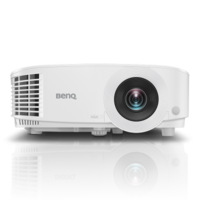 "DLP XGA   Projector 4000Lum,  20000:1 BenQ ""MX611"", White Projection System DLP  DC3 DMD Chip  Native Resolution 1024x768 pixels  Brightness 4,000 ANSI Lumens  Contrast Ratio 20000:1   Display Color 1.07 Billion Colors  Aspect Ratio Native 4:3 (5 aspect ratio selectable)   Lens Control Manual Zoom and Focus  Throw Ratio 1.96~2.15  Projection Size 30""~300""  Image Size Diagonal 300""  Zoom Ratio 1.1x  Keystone Adjustment Vertical: ± 30 degrees  Projection Offset 110%±2.5%   Interface Computer In (D-sub 15pin, Female) x1  Monitor out (D-sub 15pin,Female) x1  Composite Video(RCA) x1  S-Video  HDMI-1  HDMI-2/MHL x1  Audio in(mini jack) x1  Audio out(mini jack) x1  USB TypeA(1.5A power) x1  USB Type min B(For Page up/down and FW upgrade) x1  RS232 In (D-sub 9pin, male) x1  IR Receiver(Front+Top) x2   Built in Speaker 2W   Resolution Support VGA(640 x 480) to WUXGA_RB(1920X1200) *RB=Reduced blanking  Horizontal Frequency 15-102KHz  Vertical Scan Rate 23-120 Hz  HDTV Compatibility 480i, 480p, 576i, 567p, 720p, 1080i, 1080p  Video Compatibility NTSC, PAL, SECAM   Light Source  Lamp  Light Source Life 4000/10000/8000/15000 hours (Normal/Eco/SmartEco/Lamp save mode)  Power Consumption Max 355W. Normal 320W. Eco 240W.   Security Security Bar,Kensington lock   Noise Level 34/29dBA  Dimensions(W x H x D) 296x120x221 mm  Weight 2.3 kg   Accessories (Standard): Remote control (5J.JGV06.001); AAA Batteryx2; Power Cord (by region); VGA cable; Warranty Card (by region); QSG (4J.J3E01.001); User Manual CD (5B.J3E01.001)   Accessories (Optional): Spare Lamp Kit (5J.JGR05.001); 3D Glasses (5J.J9H25.002);  Wireless Dongle - QCast Mirror (5A.JH328.10X); Wireless Dongle - QCast (5J.JCK28.X01);"