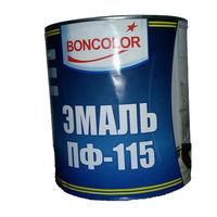 эмаль ПФ-115 Boncolor белая 2,7 кг