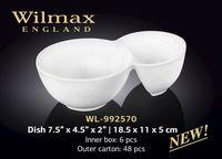 Salatiera WILMAX WL-992570 (pentru gustari 18,5 x 11 x 5 cm)