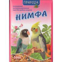Корм Нимфа для средних попугаев 500 г.