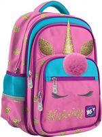 "Ghiozdan pentru școală ""Unicorn"" Yes I roz"