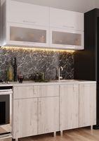 Кухонный гарнитур Bafimob Modern (High Gloss) Mini 1.6m White/Carton