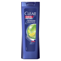 Шампунь против перхоти Clear Refreshing Grease Control, 400 мл