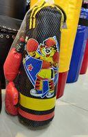 cumpără Set sac de box pt copii X 9108 (sac+manusi d=16cm, l=50cm) (3545) în Chișinău