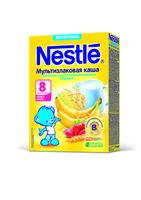 Nestle terci multicereale cu lapte, banană și capsună, 8+ luni, 220 g