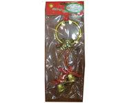 купить Украшение подвесное с колокольчиками и красн лент 26cm в Кишинёве