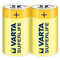купить Батарейка Varta Mono Super R20/D  (2шт) в Кишинёве