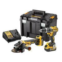Набор инструментов аккумуляторных DeWALT DCK2080P2T (DCD796+DCG405)