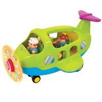 Kiddieland Игровой набор Самолет путешественик