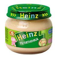 Heinz пюре телятинка, 6+мес. 80г