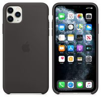 Apple Original Silicone Case Iphone 11 Pro Max , Black