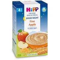 Terci organic Hipp din grâu, orez și măr cu lapte