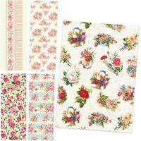 POL-MAK Бумага для упаковки POL-MAK 99.5x68.5см Vintage Flowers