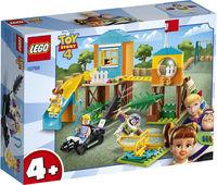LegoToy Story Buzz și Bo Peep pe terenul de joacă