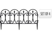 купить Забор для сада/огорода декоративный 60X33cm, 4шт в Кишинёве