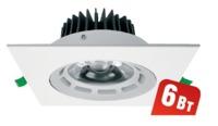 (6Wt) NDL-PS2-6W-840-WH-LED (.95*95/